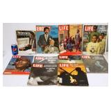 Vintage Magazines Covering Black Lives Issues