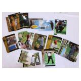 45 Collectible Tiger Woods Golf Cards