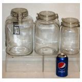 3 New Martha Stewart Glass Cannisters