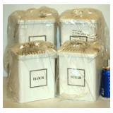 2 Each Martha Stewart Flour & Sugar Cannisters 4