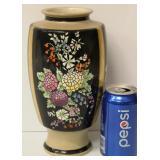 Vintage Floral Art Pottery Vase