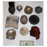 Vintage Ashtray Oddities -Toilet, McMaster, Marble