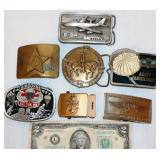 Belt Buckles w Military - Airborne to Russia