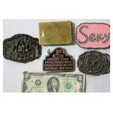 Sexy Belt Buckles- Stud, Sexy, Yes/No