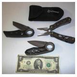 3 Gerber Knives - Suspension Multi