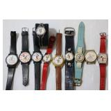 Disney & Mickey Mouse Watches Lot