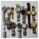 Lot of Seiko Wristwatches - Some Vintage Repair