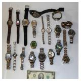 Lot of Fossil Brand Watches - Very Nice to Parts