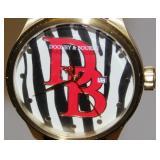 Dooney & Bourke Logo Watch Nice Condition