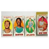 4 Topps 1969-70 Topps Cards Basketball - Bradley