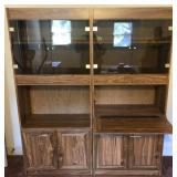 Entertainment Cabinet(2 pieces attached)
