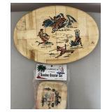 Bamboo Bowl and Coaster Set