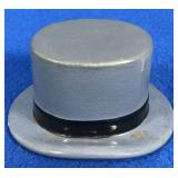 Ceramic Top Hat Figurine