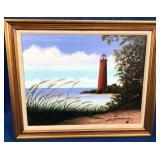 Framed Painting(Jean Westbrook)