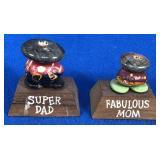Pair of Stone Figurines