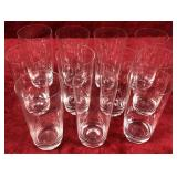 Set of Drinking Glasses and Stemware