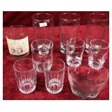 Lot of Drinking Glasses