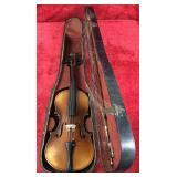 Vintage Violin w/Wooden Case