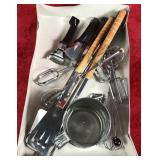 Lot of Kitchen/Grill Supplies
