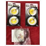 Lot of Egg Rings