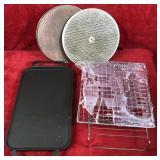 Griddle-Cooling Racks-Spatter Shields