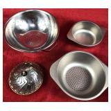 Lot of Colanders and Bowl