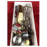 Lot of Knives and Kitchen Supplies