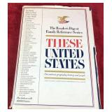 """Large """"These Unites States"""" Book"""