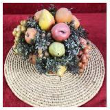 Artificial Fruit Display and Mat