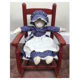 Doll and Rocking Chair