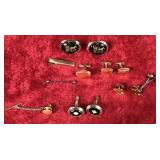 Lot of Cufflinks and Tie Pins