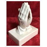 Praying Hands Figurine