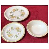 Set of Stoneware Dishes
