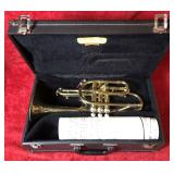 Trumpet w/Case and Sheet Music