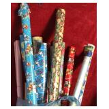 Lot of Wrapping Paper