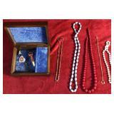Jewelry Box and Costume Jewelry