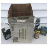 Lot of Car Care Supplies/Lubricants/Paint