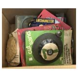 Lot of Abrasive Wheels and Other Hardware