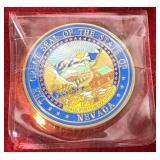 Nevada Highway Patrol Coin