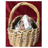 Basket of Miscellaneous Items
