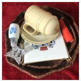 2 Baskets and Miscellaneous Items