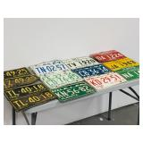 Alberta vehicle plates- 1960- 1969