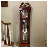 71st ANNIVERSARY HOWARD MILLER GRANDFATHER CLOCK