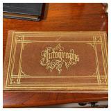 ANTIQUE AUTOGRAPH BOOK