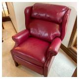 PAIR LIKE NEW LAZYBOY LEATHER RECLINERS