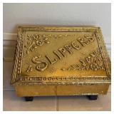 BRASS SLIPPER BOX