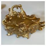 ORNATE GOLD JEWELRY BOX
