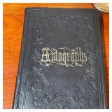 19TH CENTURY AUTOGRAPH BOOK