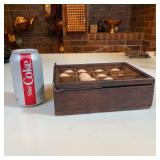 WOODEN EGG CRATE