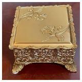 GILT JEWELRY BOX